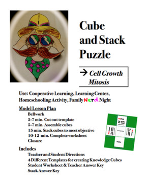CUBE AND STACK PuZZLE: Mitosis