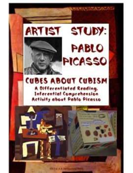Cubes About Cubism:  An Innovative Inferential Reading Activity about Picasso