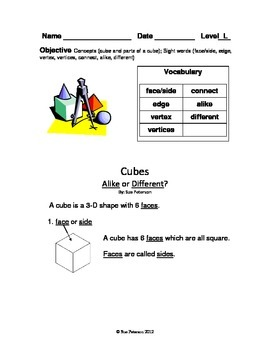 Cubes - Alike or Different