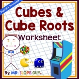 Cube Roots and Cubes Worksheet