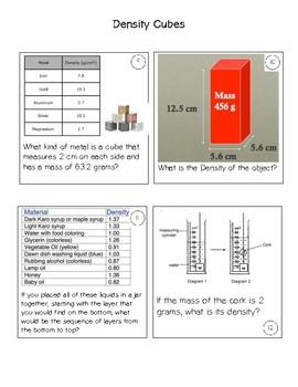 Cubes- Density