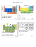Cubes- Periodic Table - 8th Grade STAAR review game