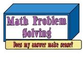 Cubes (Problem Solving Strategy)
