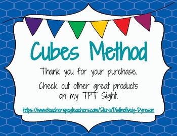 Cubes Strategy