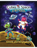 Cubes in Space Cadets - A Coloring Journey for New Explorers!