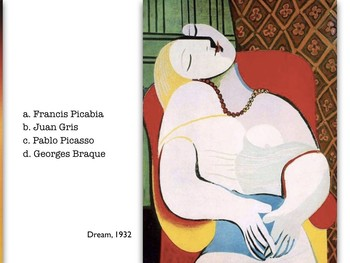 Cubism ~ Art ~ Exam ~ Art History ~ 100 M/C Visual Qs ~ Cubist ~ Test