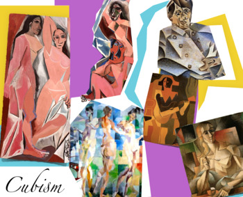 Cubism in Art History - FREE POSTER