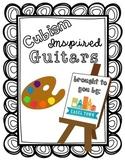 Cubism Inspired Guitar