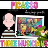 Cubism Pablo Picasso Three Musicians Kids Visual Arts Draw