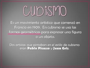 Cubism - Picasso & Gris