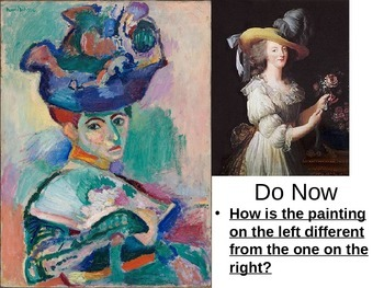 Cubism and Fauvism Powerpoint