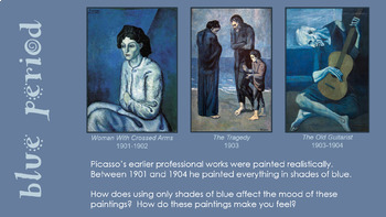 Cubist Picasso Portraits