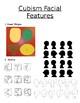 Cubist history, Picasso bio, Cubist creation portrait step-by-step Lesson Plan+