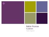 Cubist history, Picasso bio and Cubist portrait creation s