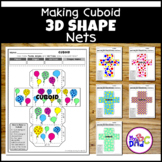 Cuboid 3D Shapes Geometry Math