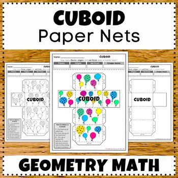 Cuboid 3D Shape Designs