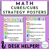 Cubs and Cubes Poster and Desk Helper