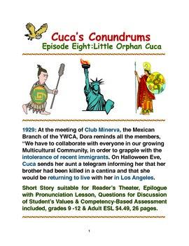 Cuca's Conundrums Episode Eight: Little Orphan Cuca