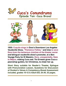 Cuca's Conundrums Episode Ten: Cuca Brava!