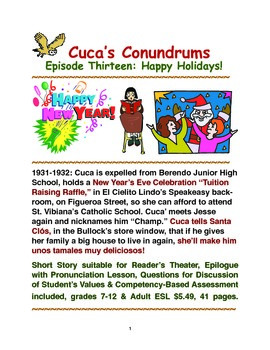 Cuca's Conundrums Episode Thirteen:Happy Holidays!