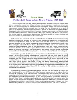Cuca's Conundrums Episode Three: In Arizona, 1924-26