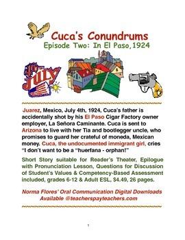 Cuca's Conundrums Episode Two: In El Paso,1924