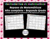 Cuchadaritas de matemáticas - en español! (NO PREP!)