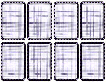 Cucharas Conjugation Card Game (Preterit Irregular Verbs)