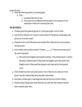 Cucharas (Realidades 1 - 7A)