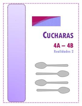 Cucharas (Realidades 2 - 4A - 4B)