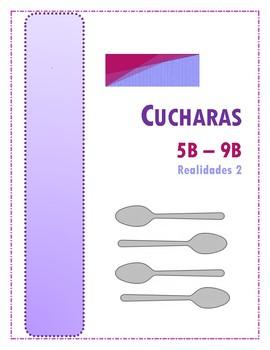 Cucharas (Realidades 2 - 5B - 9B)