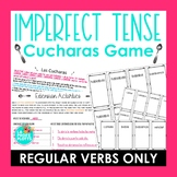 ¡Cucharas! Spoons Game for Imperfect Tense (Regular Verbs Only)