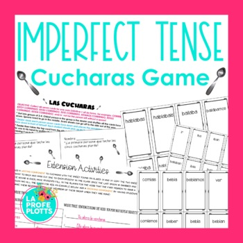 ¡Cucharas! Spoons Game for Imperfect Tense