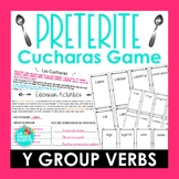Preterite I to Y Group Verbs Cucharas Spoons Game