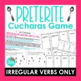 ¡Cucharas! Spoons Game for Irregular Preterite Verbs