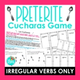 Cucharas Spoons Game for Irregular Preterite Verbs