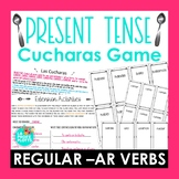 Regular -AR Verbs in the Present Tense Cucharas Spoons Game