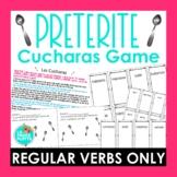 Regular Preterite Tense Verbs Cucharas Game