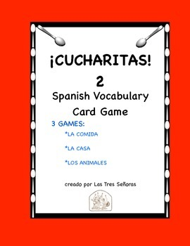 Cucharitas Games 2: Food, House, and Animals