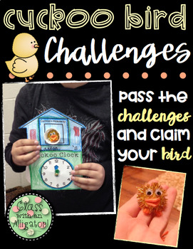 Cuckoo Bird Challenges To Help Telling Time