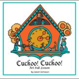 Easy Elementary Art Sub Plan - Cuckoo! Cuckoo!