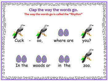 Cuckoo {Kodaly Folk Song to Teach ta, ti-ti and So-Mi}