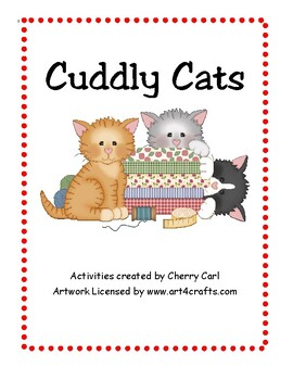 Cuddly Cats: Activity Packet