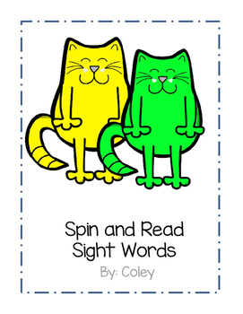 Cuddly Cats Spin and Read - Fry's First 100 Words