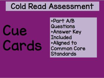 Cue Cards Cold Read