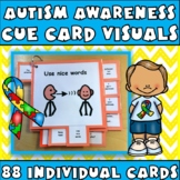 Cue Cards MEGA set (large):Visual Behavior Tool Book (Autism, Aspergers)
