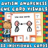 Visual Cue Cards MEGA set (large):Behavior Tool Book (Auti