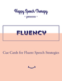 Cue Cards for Stuttering - Speech Therapy