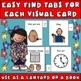 Cue Cards set 2 (small):Visual Behavior Necklace Book (Aut