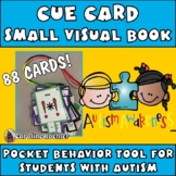 Cue Cards MEGA set (small):Visual Behavior Necklace Book (Autism, Aspergers)